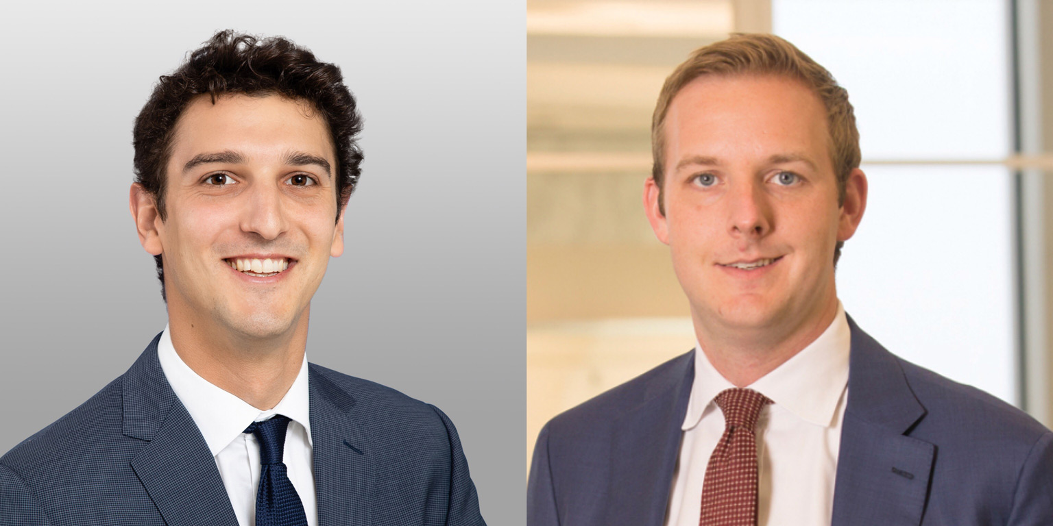 Gabe Maldoff, Covington & Burling LLP and Alex Brown, Alston & Bird LLP
